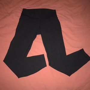 Black Lululemon Athletic Leggings